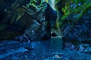 Oceania, New Zealand, Aotearoa, South Island, West Coast Gorge