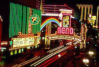 Neon, signs, Downtown Reno, Nevada USA