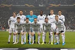 FC Københavns hold før kampen i UEFA Europa League mellem FC København og Malmö FF den 12. december 2019 i Telia Parken (Foto: Claus Birch).