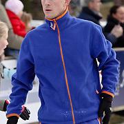 NLD/Laren/20081129 - Schaatsbaan Laren NH geopend, schaatser Jochem Uytdehaage