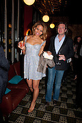 EMMA MCQUEEN; CEAWLIN THYNN VISCOUNT WEYMOUTH, Party after the opening of  A Memory, A Monologue, A Rant, and A Prayer  at Century Club.  Restless Buddha's fundraising event helping women around the world. All proceeds raised from the sale of tickets go to Women for Women International, V-Day and Domestic Violence Intervention Project. 26 March 2012