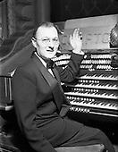 1952 - Norman Metcalfe in the Theatre Royal, Dublin
