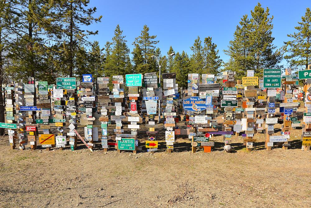 The Signpost Forest, Watson Lake, Yukon