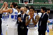 Russel Dewayne<br /> De'Longhi Treviso Basket - Acqua S.Bernardo Cantù<br /> Legabasket Serie A UnipolSAI 2020/2021<br /> Treviso (TV), 18/11/20<br /> Foto Michele Brunello / Ciamillo-Castoria <br /> Esultanza