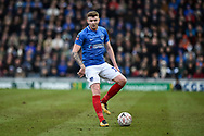 Portsmouth Midfielder, Dion Donohue (17) during the The FA Cup fourth round match between Portsmouth and Queens Park Rangers at Fratton Park, Portsmouth, England on 26 January 2019.