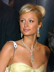 PARIS HILTON at the annual Serpentine Gallery Summer Party co-hosted by Jimmy Choo shoes held at the Serpentine Gallery, Kensington Gardens, London on 30th June 2005.<br /><br />NON EXCLUSIVE - WORLD RIGHTS