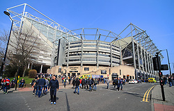 A general view of St James' Park - Mandatory by-line: Matt McNulty/JMP - 15/04/2018 - FOOTBALL - St James Park - Newcastle upon Tyne, England - Newcastle United v Arsenal - Premier League