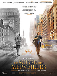 RELEASE DATE: October 20, 2017 TITLE: Wonderstruck STUDIO: Amazon Studios DIRECTOR: Todd Haynes PLOT: The story of a young boy in the Midwest is told simultaneously with a tale about a young girl in New York from fifty years ago as they both seek the same mysterious connection. STARRING: French Poster Art. (Credit Image: ? Amazon Studios/Entertainment Pictures/ZUMAPRESS.com)
