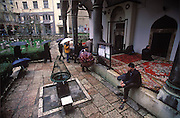 Ablutions for Friday Prayer at Mosque. Sarajevo, Bosnia and Herzegovina. (Supporting image from the project Hungry Planet: What the World Eats.)