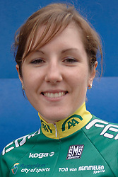 08-03-2006 WIELRENNEN: TEAMPRESENTATIE AA CYCLINGTEAM: ALPHEN AAN DE RIJN<br /> Corine Hierckens<br /> Copyrights: WWW.FOTOHOOGENDOORN.NL