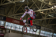 #84 (VEIDE Rihards) LAT at the 2016 UCI BMX Supercross World Cup in Manchester, United Kingdom<br /> <br /> A high res version of this image can be purchased for editorial, advertising and social media use on CraigDutton.com<br /> <br /> http://www.craigdutton.com/library/index.php?module=media&pId=100&category=gallery/cycling/bmx/SXWC_Manchester_2016