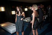 MELANIE BLATT; JAMIE WINSTONE, The 2009 GQ Men Of The Year Awards at The Royal Opera House. Covent Garden.  8 September 2009.