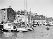 9969-2592. Deep sea fishing boat making ready to leave at Newport. July 19, 1936.