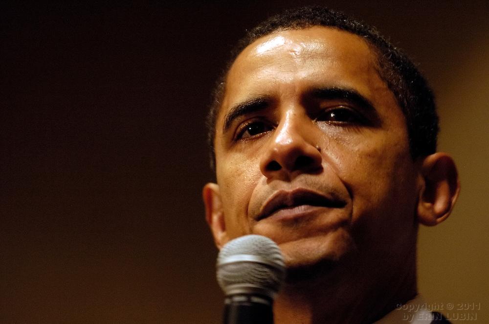 Barack Obama 2008 presidential campaign fundraiser, Mark Hopkins Intercontinental Hotel, San Francisco, Calif. March 19, 2007.