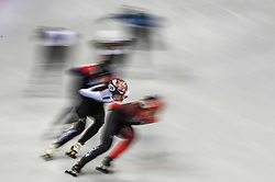 February 17, 2018 - Pyeongchang, Gangwon, South Korea - Kim Alang of  South Korea competing in 1500 meter speed skating for women at Gangneung Ice Arena, Gangneung, South Korea on 17 February 2018. (Credit Image: © Ulrik Pedersen/NurPhoto via ZUMA Press)