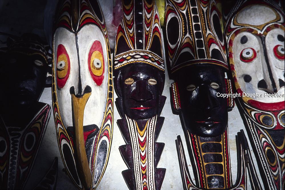 Masks, Madang, Papua New Guinea<br />