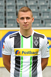 10.07.2014, Borussia Park, Moenchengladbach, GER, 1. FBL, Mannschaftsfototermin Borussia Moenchengladbach, im Bild Thorgan Hazard ( Borussia Moenchengladbach / Portrait ) // during a Photo Shoot of German 1st Bundesliga Club Borussia Moenchengladbach at the Borussia Park in Moenchengladbach, Germany on 2014/07/10. EXPA Pictures © 2014, PhotoCredit: EXPA/ Eibner-Pressefoto/ Thienel<br /> <br /> *****ATTENTION - OUT of GER*****