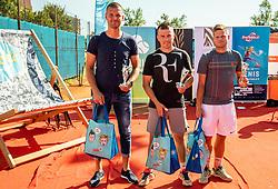 Rekreacijsko veteransko drzavno prvenstvo posameznikov v tenisu 2019, finale, on September 15, 2019 in Z Sport tenis klub, Ljubljana, Slovenia. Photo by Vid Ponikvar / Sportida