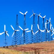 Wind Turbines near Livermore, California