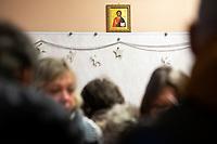 Bialystok, 06.01.2020. Prawoslawna Wigilia dla ubogich i bezdomnych w Prawoslawnym Osrodku Milosierdzia Eleos fot Michal Kosc / AGENCJA WSCHOD