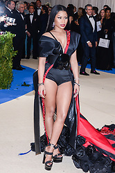 Nicki Minaj arriving at The Metropolitan Museum of Art Costume Institute Benefit celebrating the opening of Rei Kawakubo / Comme des Garcons : Art of the In-Between held at The Metropolitan Museum of Art  in New York, NY, on May 1, 2017. (Photo by Anthony Behar) *** Please Use Credit from Credit Field ***
