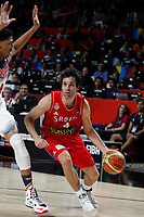United States´s Curry (L) and Serbia´s Teodosic during FIBA Basketball World Cup Spain 2014 final match between United States and Serbia at `Palacio de los deportes´ stadium in Madrid, Spain. September 14, 2014. (ALTERPHOTOSVictor Blanco)