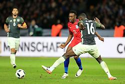 England Danny Welbeck takes on Germanys Antonio Rudiger - Mandatory by-line: Matt McNulty/JMP - 26/03/2016 - FOOTBALL - Olympiastadion - Berlin, Germany - Germany v England - International Friendly
