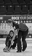 "Glasgow. SCOTLAND.  ""Round Robin"" Game. Le Gruyère European Curling Championships. 2016 Venue, Braehead  Scotland<br /> Thursday  24/11/2016<br /> <br /> [Mandatory Credit; Peter Spurrier/Intersport-images]"