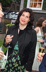 The HON.KIRSTY ALLSOPP at the No Campaign's Summer Party - a celebration of the 'Non' and 'Nee' votes in the Europen referendum in France and The Netherlands held at The Peacock House, 8 Addison Road, London W14 on 5th July 2005.<br /><br />NON EXCLUSIVE - WORLD RIGHTS