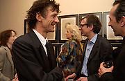 Matthew Carr and Inigo T<br /> homas, Matthew Carr exhibition opening, Marlborough Fine Art, 25 November 2003. © Copyright Photograph by Dafydd Jones 66 Stockwell Park Rd. London SW9 0DA Tel 020 7733 0108 www.dafjones.com