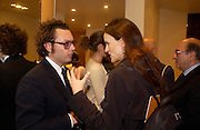 Emanuelle della Valle and Bettina von Hase.. Tod's hosts Book signing with Dante Ferretti celebrating the launch of 'Ferretti,- The art of production design' by Dante Ferretti. tod's, Old Bond St. 19 April 2005.  ONE TIME USE ONLY - DO NOT ARCHIVE  © Copyright Photograph by Dafydd Jones 66 Stockwell Park Rd. London SW9 0DA Tel 020 7733 0108 www.dafjones.com