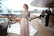 KIMBERLEY WALSH;, Breast Cancer Haven 10th Anniversary Gala Event aboard Super Luxury Yacht Seabourn Sojourn. Off Canary Wharf. London. 5 June 2010. -DO NOT ARCHIVE-© Copyright Photograph by Dafydd Jones. 248 Clapham Rd. London SW9 0PZ. Tel 0207 820 0771. www.dafjones.com.