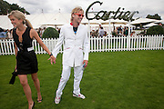 Isabella Anstruther-Gough-Calthorpe ; Sam Branson, Cartier International Polo Day at the Guards Polo Club. Windsor. July 26  2009