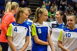Nina Jericek during Exhibition game of Slovenian women handball legends on 29th of September, Celje, Slovenija 2018