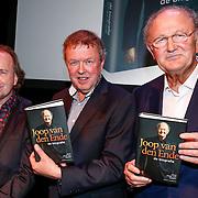 NLD/Amsteram/20121024- Presentatie biografie Joop van den Ende, Vic van der Reijt, Herman van Gelder en Joop van den Ende