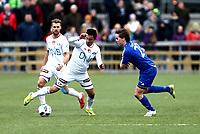 Fotball ,  NM- Cupen<br /> 13.04.16<br /> Løten kunstgress<br /> Løten  v Vålerenga<br /> Foto : Dagfinn Limoseth , Digitalsport<br /> Niklas Fernando Castro , Vålerenga