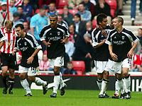 Fotball, 14.september 2002. Sunderland - Fulham. Stadium of Light. Junichi Inamoto, Fulham.