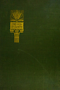 Gold artwork on a green binding cover From the book ' The Old Testament : three hundred and ninety-six compositions illustrating the Old Testament ' Part I by J. James Tissot Published by M. de Brunoff in Paris, London and New York in 1904