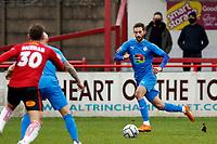 Adam Thomas. Altrincham FC 1-1 Stockport County FC. Vanarama National League. 27.12.20