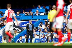 Chelsea Manager Jose Mourinho - Mandatory byline: Rogan Thomson/JMP - 07966 386802 - 19/09/2015 - FOOTBALL - Stamford Bridge Stadium - London, England - Chelsea v Arsenal - Barclays Premier League.