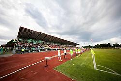 Football match between NK Bravo and NK Olimpija Ljubljana in 1st Round of Prva liga Telekom Slovenije 2019/20, on July 14, 2019 in Sports park , Ljubljana, Slovenia. Photo by Ziga Zupan / Sportida