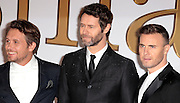 "Jan 14, 2015 - ""Kingsman: The Secret Service"" - World Premiere - Red Carpet Arrivals at Odeon,  Leicester Square, London<br /> <br /> Pictured: Gary Barlow, Howard Donald and Mark Owen from Take That<br /> ©Exclusivepix Media"