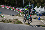 #248 (JANSSENS Marnicq) BEL during practice at Round 5 of the 2018 UCI BMX Superscross World Cup in Zolder, Belgium