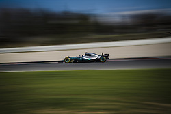 March 1, 2017 - Montmelo, Catalonia, Spain - VALTTERI BOTTAS (FIN) drives in his Mercedes W08 EQ Power+ on track during day 3 of Formula One testing at Circuit de Catalunya (Credit Image: © Matthias Oesterle via ZUMA Wire)