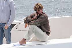 Jordan Barrett at the Eden Roc hotel during the 2019 Cannes Film Festival. In Antibes, France, on May 25, 2019. Photo by Thibaud MORITZ ABACAPRESS.COM