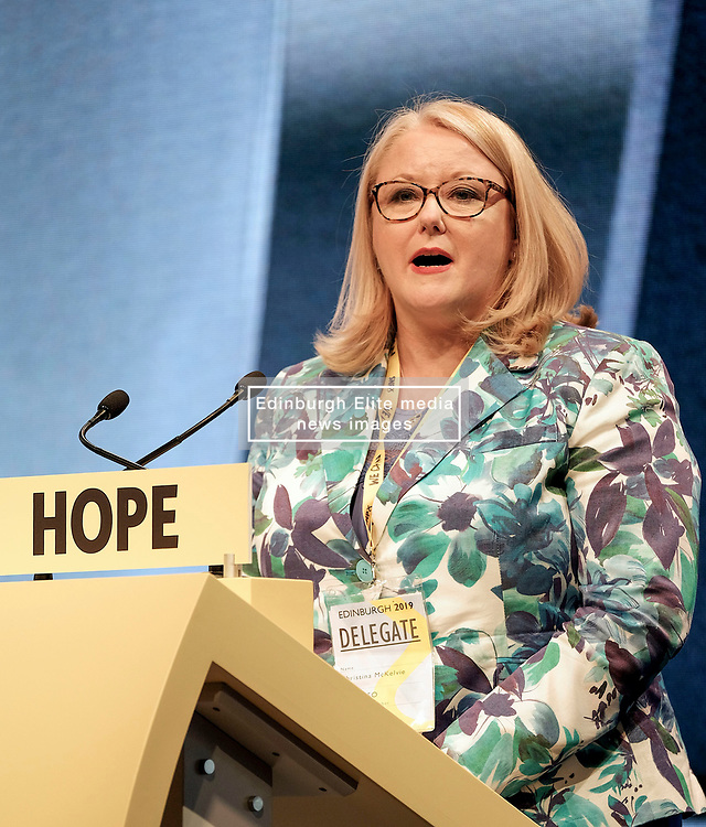 """Scottish government minister Christina McKelvie is temporarily stepping aside from her role.<br /> <br /> The SNP MSP will be on medical leave from Monday for an undisclosed condition.<br /> <br /> Ms McKelvie said she would retire for """"a short time"""" to receive medical treatment before returning to contest her seat at the Holyrood elections.<br /> <br /> Shirley-Anne Somerville will fill in as minister for equalities and older people.<br /> <br /> Ms McKelvie has represented the Hamilton, Larkhall and Stonehouse constituency for a decade."""