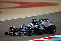 HAMILTON lewis (gbr) mercedes gp mgp w06 action during 2015 Formula 1 FIA world championship, Bahrain Grand Prix, at Sakhir from April 16 to 19th. Photo Florent Gooden / DPPI