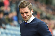 Shrewsbury Town manager Sam Ricketts  during the EFL Sky Bet League 1 match between Coventry City and Shrewsbury Town at the Ricoh Arena, Coventry, England on 28 April 2019.