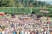 delay710911A-23. Rainier Beer Sunbust, rock festival at Washington Park ampitheater, September 11, 1971.