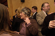 Maureen O'Leary. Robert Hardman Telegraph goodbye party. Paparazzi Cafe. Hanover St. London W1. 11 January 2000. © Copyright Photograph by Dafydd Jones 66 Stockwell Park Rd. London SW9 0DA Tel 020 7733 0108 www.dafjones.com